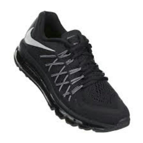 wholesale dealer 4e007 41716 Kids Nike Air Max 2015 Black   White. M 5af07342331627f0adb37bbd